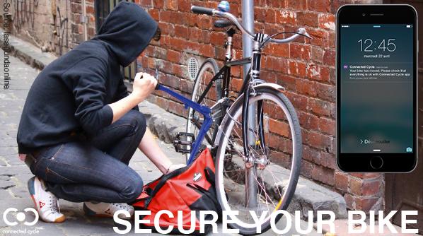 Secure je fiets.