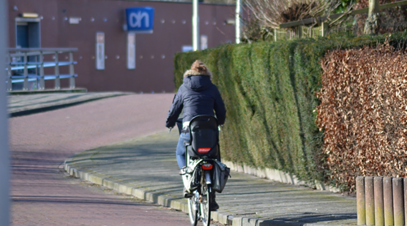 vijftiger op de fiets
