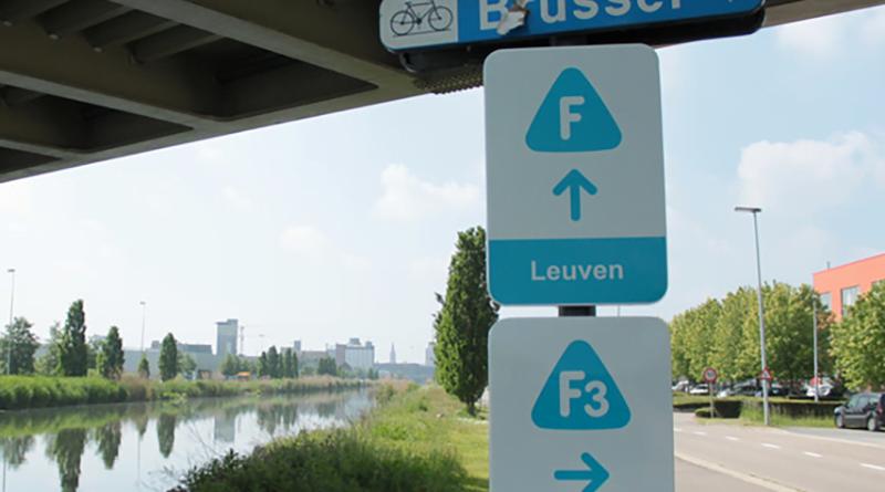 fietssnelweg vlaanderen bord