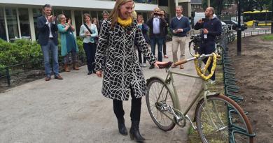 nieuw fietsenrek de puls