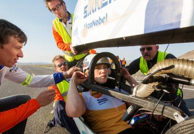 Strongher zoekt met studenten TU Delft en VU Amsterdam snelste vrouw ter wereld.