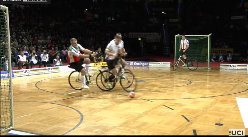 UCI Indoors ball Cycling WK Stuttgart Duitsland