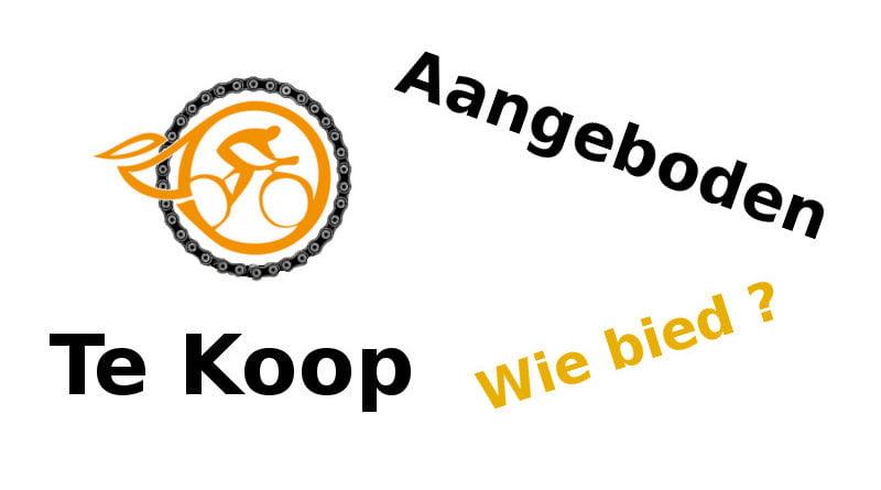 Te Koop. Merknaam DeFietsVriend.nl