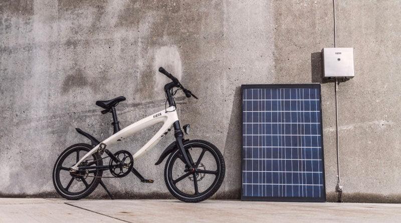 Kvaern elektrische fiets. Nu op indiegogo.