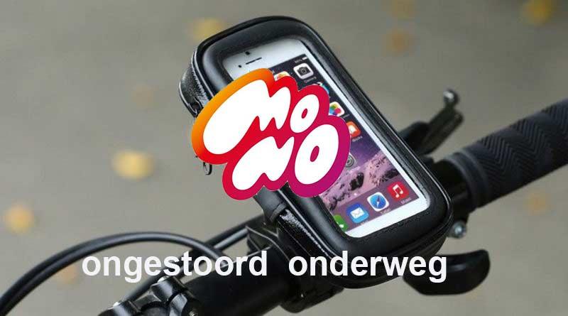 """Start Mono: """"Rijden en appen gaan ook op de fiets niet samen"""""""
