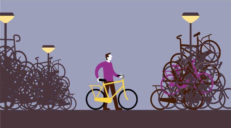 Te weinig fietsparkeerplekken in 20% van de Nederlandse gemeenten